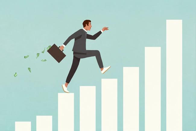 Passo a passo do aumento salarial em diferentes perspectivas